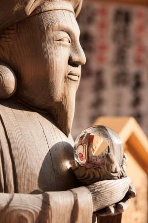 Kyoto statue