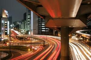 Tokyo roads